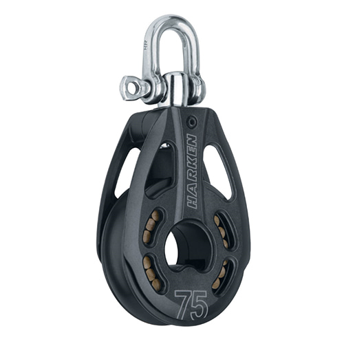 75 mm Aluminum Block — Swivel (No.3231) Harken